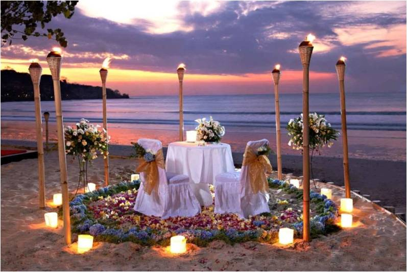 Beach Candle Light Dinner Goa